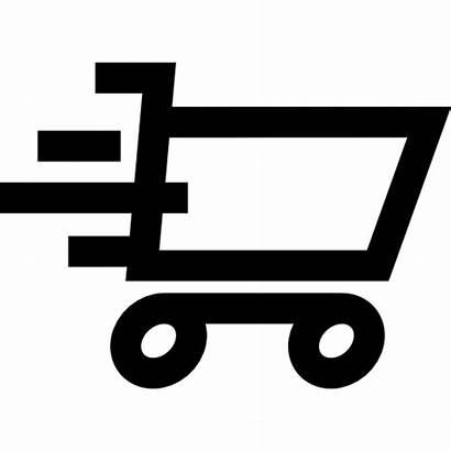 Cart Shopping Symbol Moving Icon Icons Ecommerce