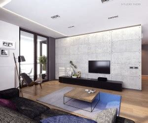 Invisible Doors Turn A Modern Home Into An Artistic Feat Of Design by 3 Open Studio Apartment Designs