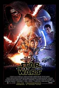 Poster Star Wars : this animated force awakens poster is a trippy nightmare ~ Melissatoandfro.com Idées de Décoration