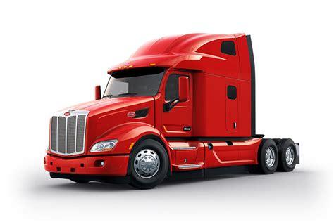 peterbilt unveils  model  ultraloft sleeper truck