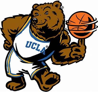 Ucla Mascot Bruins Basketball Logos Sports Ncaa