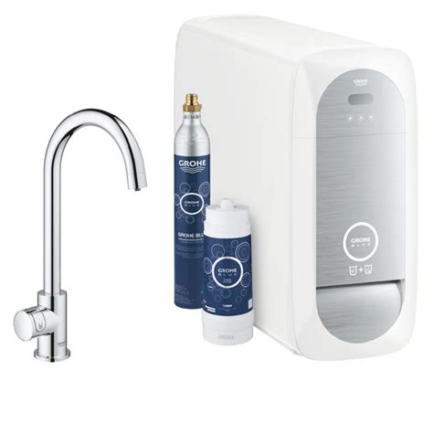 grohe blue home mono  spout water filter tap