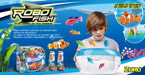 robo fish zuru un aquarium avec des poissons jouets robots