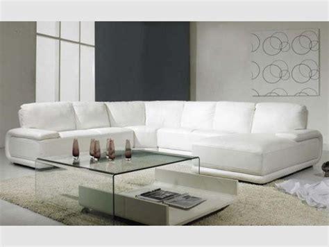 canapes cuir blanc photos canapé d 39 angle cuir blanc italien