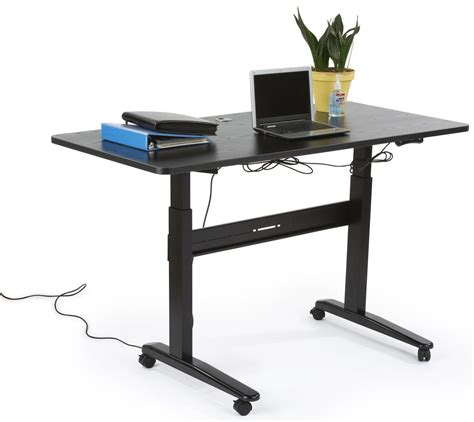 motorized standing desk canada electric sit stand desk 4 height memory settings
