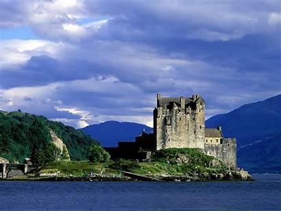 Scotland Castle Eilean Donan Castles Posted