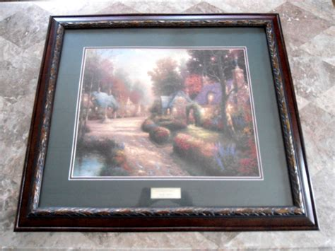 kinkade home interiors kinkade home interior shop collectibles daily