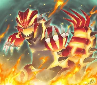 Groudon Primal Pokemon Deviantart Kyogre Wallpapers Shiny