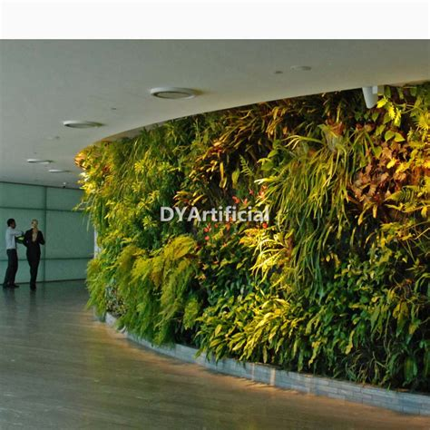 Garden Decoration Artificial Plants by Artificial Green Plants Wall With Foliage Fern Plastic