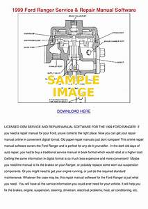 1999 Ford Ranger Service Repair Manual Softwa By