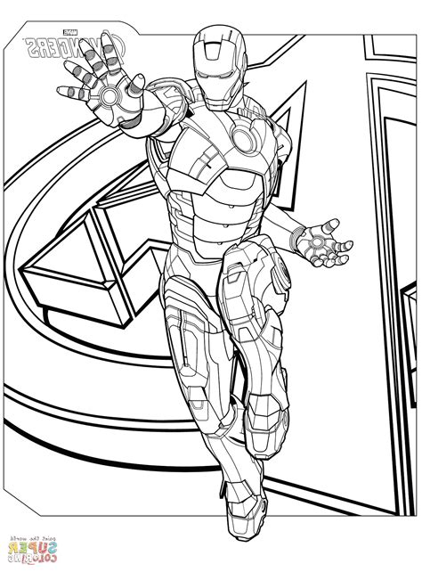 41 Avengers Coloring Pages To Print Avengers Coloring
