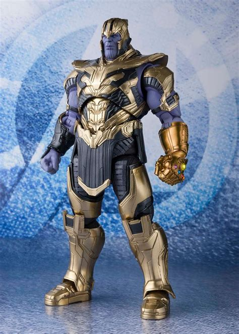 sh figuarts avengers  game thanos armored