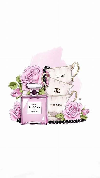 Chanel Coco Iphone Wallpapers Ipad Lady Perfume