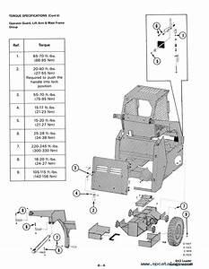 Bobcat 843  843b Skid Steer Loaders Service Manual Pdf