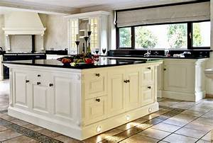 Eclectic victorian kitchen inspiration 192039s style for Kitchen designs with white cabinets and black countertops