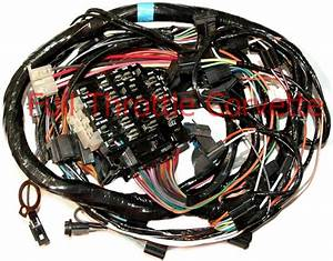 1978 2nd Design Corvette Dash Wiring Harness New