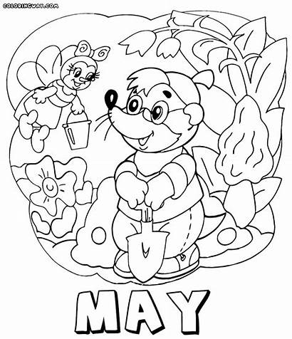 Month Coloring Pages Months Colorings Coloringway