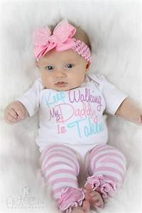 Baby Girl Clothes Embroidered with Keep Walking My by ...