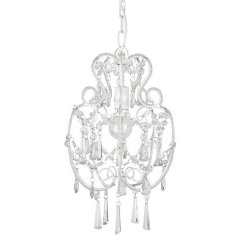 modern white shabby chic chandelier pendant light