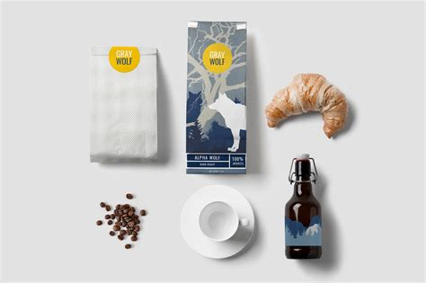 Check out our wolf coffee selection for the very best in unique or custom, handmade pieces from our coffee shops. Gray Wolf Coffee (Concept) on Packaging of the World - Creative Package Design Gallery