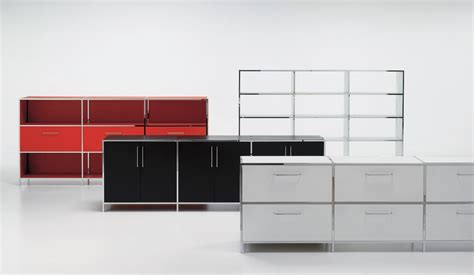 bureau design contemporain meuble rangement design bureau