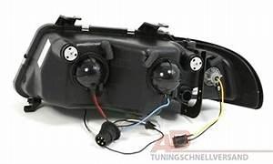 A4 B5 Scheinwerfer : scheinwerfer mit led f r audi a4 b5 in schwarz ad tuning ~ Kayakingforconservation.com Haus und Dekorationen