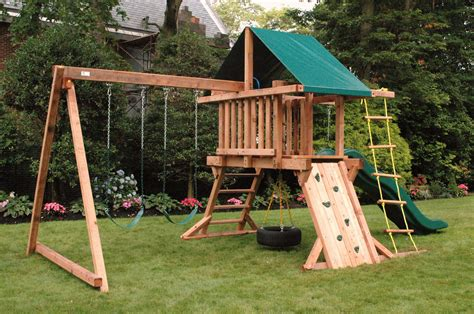 Swings Sets swing set potager makeover