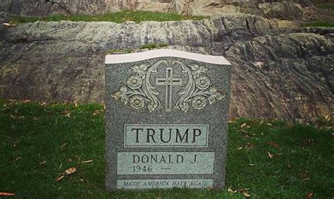 Trump's Mysterious Headstone Traced To 4th Avenue Memorial ...