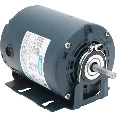 leeson fan and blower electric motor 1 4 hp 1725 rpm