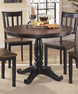 buy ashley furniture owingsville round dining room table
