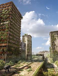 3D Tutorial: Making of Post Apocalyptic City Ruins | Stay ...