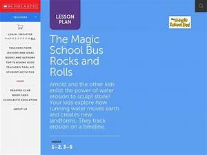 The Magic School Bus Rocks And Rolls Lesson Plan For