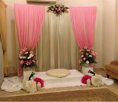 Pelamin Decoration Engagement Stage Simple Cheap Pelaminan