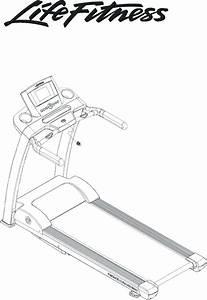 Life Fitness Treadmill F3