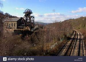 Old Coal Mine Remains Pontypridd South Wales Stock Photo ...