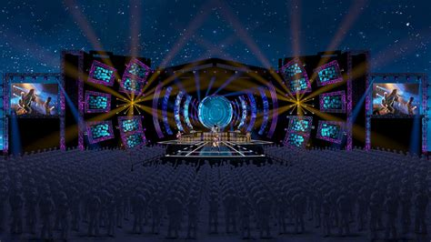 concert stage design  behance