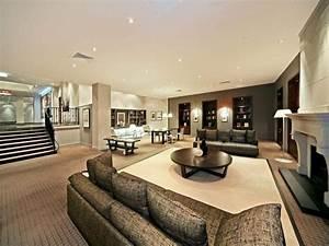 stunning deco salon moderne chic contemporary design With charming salon couleur taupe et beige 2 deco salon 40m2