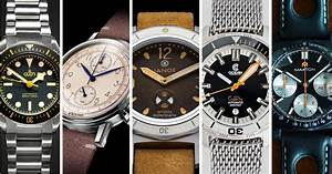 5 Watch Microbrands You Need To Know - April