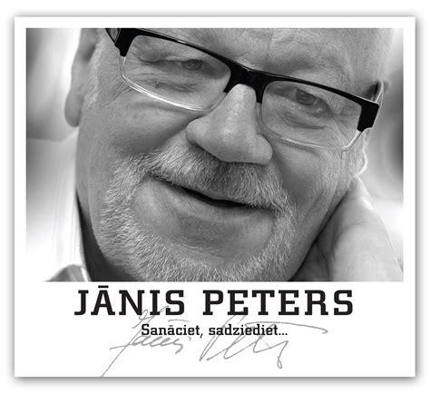 Populārākās dziesmas ar Jāņa Petera dzeju apkopotas CD ...
