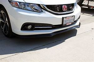 Pro Design Alpha Style Front Lip For Honda Civic 2015 2014