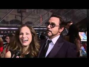 Robert Downey Jr & Susan Downey talk about their baby ...