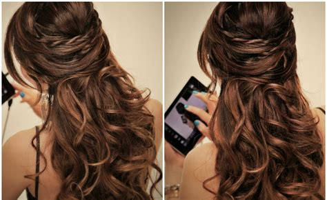simple party hairstyles  long hair hairstyle