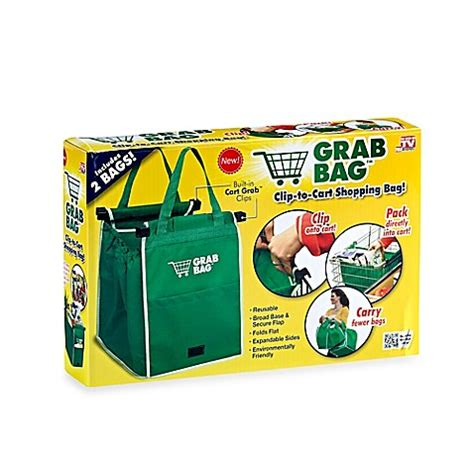 As Seen On Tv Bed Bath And Beyond by Grab Bag Reusable Shopping Bag Set Of 2 Bed Bath Beyond