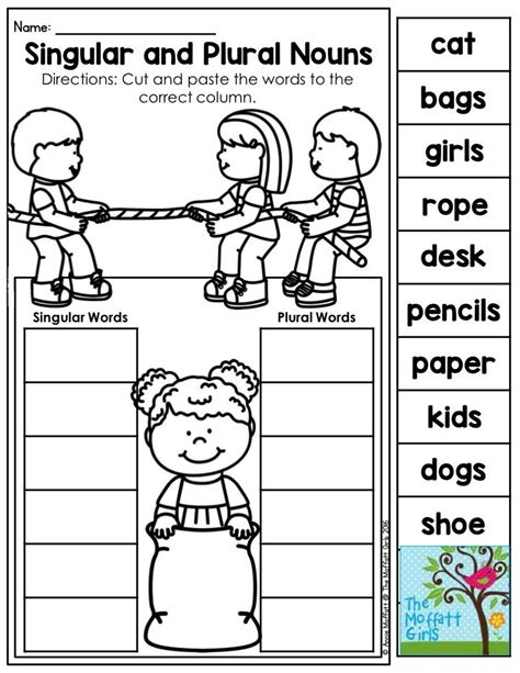 Memory is a skill we all use everyday and the stronger the better. Mastering Grammar and Language Arts! | Nouns kindergarten ...