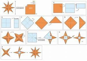 Comment Faire Une Etoile : origami etoile 3d facile ~ Nature-et-papiers.com Idées de Décoration
