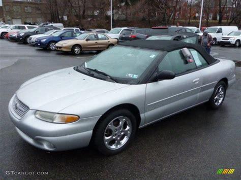 2000 Chrysler Sebring Jxi by Bright Silver Metallic 2000 Chrysler Sebring Jxi