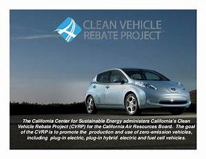 CARB Plug-In Electric Vehicle Incentives