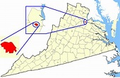 File:Map showing Fredericksburg city, Virginia.png ...