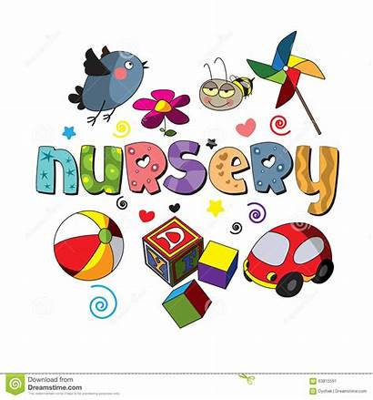 Nursery Word Spelling Children Sunday Materials Inspire