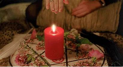 Magic Witch Craft Candles Witches Gothic Candle